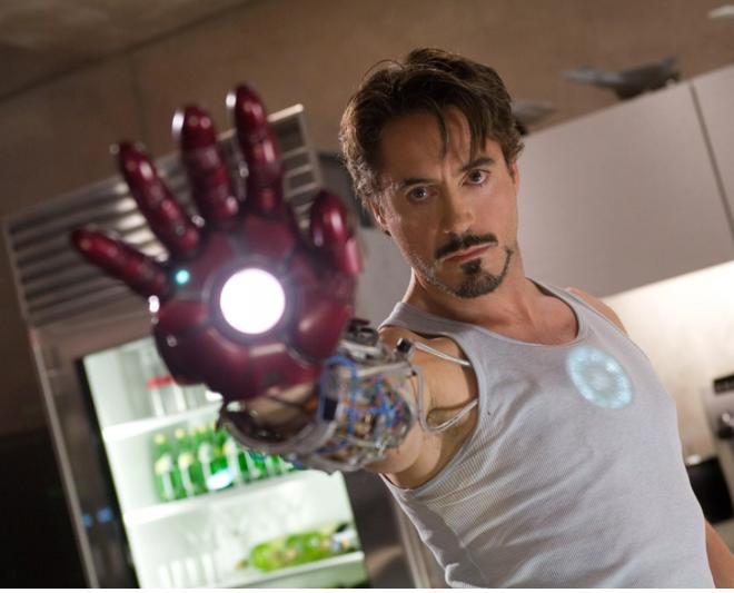 Robert Downey Jr. đã rất thành công trong vai diễn Tony Stark/Iron Man với những dự án công nghệ không tưởng.