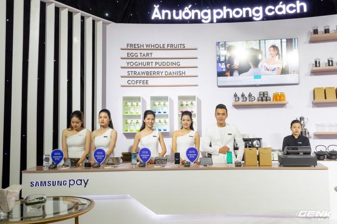 Samsung nâng cấp thêm tính năng mới cho ứng dụng thanh toán một chạm Pay: hỗ trợ thanh toán bằng Gear S3, rút tiền được tại máy ATM, đáp ứng 75% nhu cầu sử dụng thẻ của người dùng Việt - Ảnh 16.