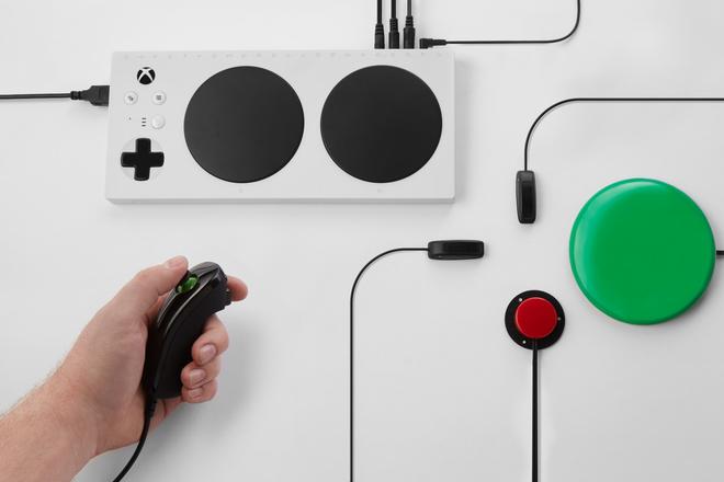 Microsoft giới thiệu thiết bị hỗ trợ chơi game Xbox dành cho người khuyết tật - Ảnh 3.