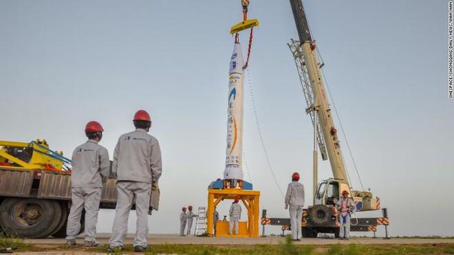 Elon Musk của Trung Quốc phóng thành công quả tên lửa đầu tiên - Ảnh 2.