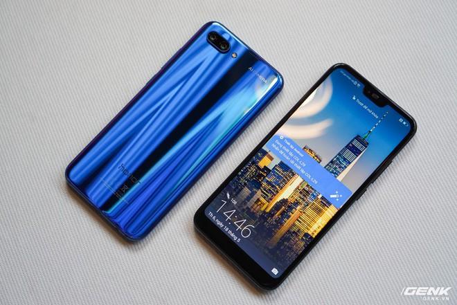 Cận cảnh Honor 10: nhiều chi tiết giống P20 của Huawei nhưng giá chỉ bằng một nửa - Ảnh 4.
