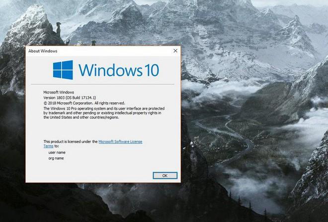 Bản cập nhật Windows 10 April 2018 Update phát sinh khá nhiều lỗi vặt