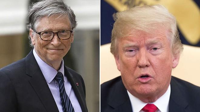 Bill Gates: Trump đã hỏi tôi sự khác biệt giữa HIV và HPV - Ảnh 1.