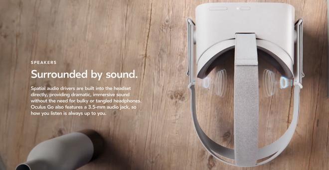 Kính VR di động Oculus Go đã ra mắt vào ngày hôm nay, hoạt động độc lập mà không cần điện thoại Samsung, giá 199 USD - Ảnh 1.