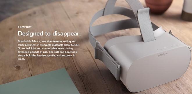 Kính VR di động Oculus Go đã ra mắt vào ngày hôm nay, hoạt động độc lập mà không cần điện thoại Samsung, giá 199 USD - Ảnh 2.