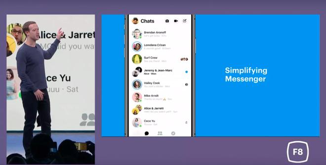 Facebook thiết kế lại hoàn toàn Messenger để khiến ứng dụng này trở nên đơn giản, sạch sẽ và nhanh hơn - Ảnh 1.
