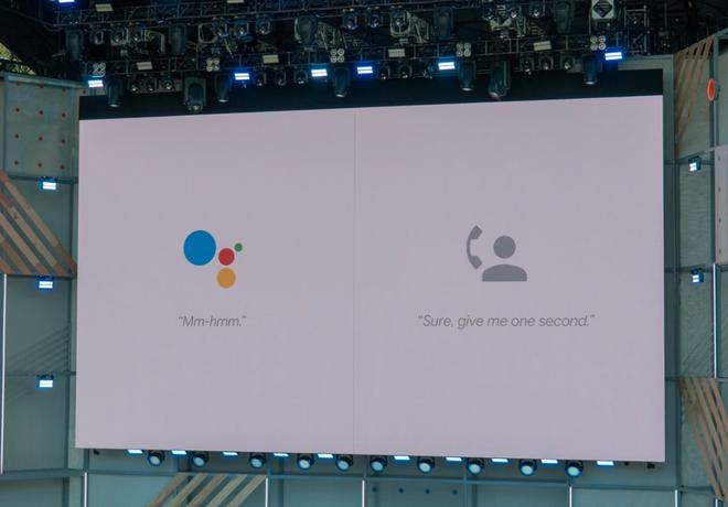 Google Duplex còn sử dụng những tiếng như ừm khi giao tiếp