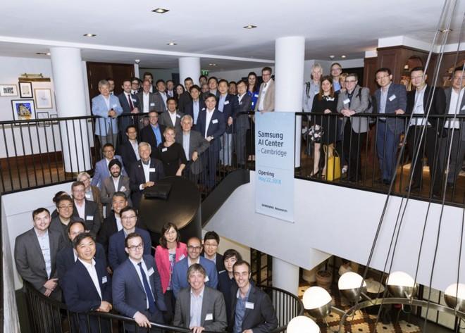 Samsung công bố dự án thành lập trung tâm nghiên cứu AI quy mô lớn tại Cambridge, Anh - Ảnh 1.