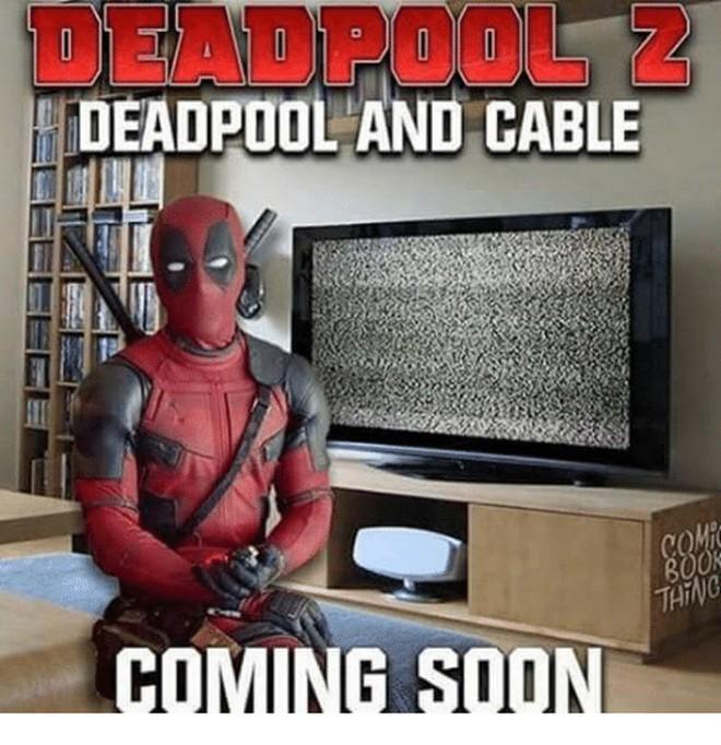 [Vui] Loạt ảnh chế lầy lội dành cho fan cuồng Deadpool 2 - Ảnh 8.