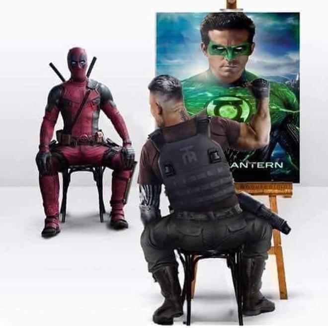 [Vui] Loạt ảnh chế lầy lội dành cho fan cuồng Deadpool 2 - Ảnh 9.