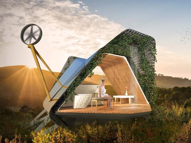 Nhà in 3D siêu nhỏ, sử dụng pin Tesla và có giá 250.000 USD - Ảnh 2.