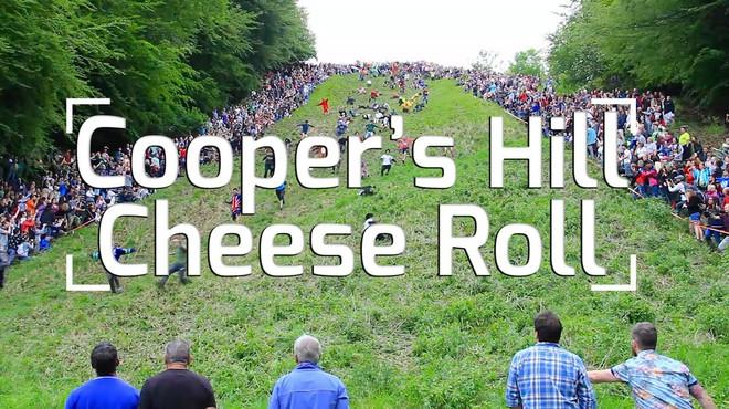 Vồ phô mai ở đồi Cooper: Lễ hội điên khùng và nguy hiểm bậc nhất nước Anh - Ảnh 1.