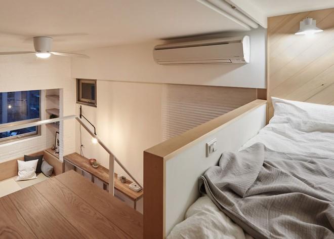 Từng cm được tính toán kỹ càng, căn hộ 22m2 ở Đài Loan trở thành ví dụ điển hình về việc tối đa hóa không gian nhỏ hẹp - Ảnh 10.
