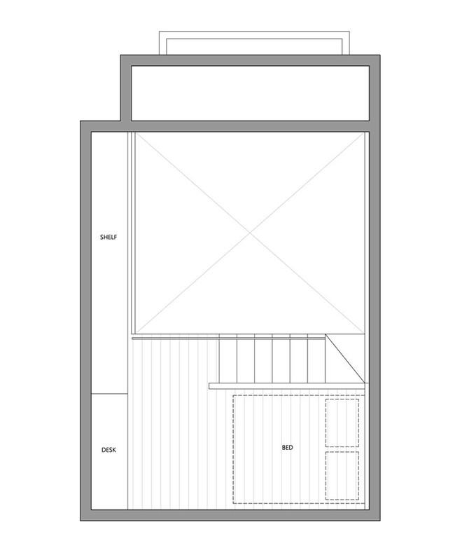 Từng cm được tính toán kỹ càng, căn hộ 22m2 ở Đài Loan trở thành ví dụ điển hình về việc tối đa hóa không gian nhỏ hẹp - Ảnh 21.