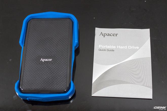 Đánh giá Apacer AC631: Ổ cứng di động siêu bền bỉ của Apacer - Ảnh 2.