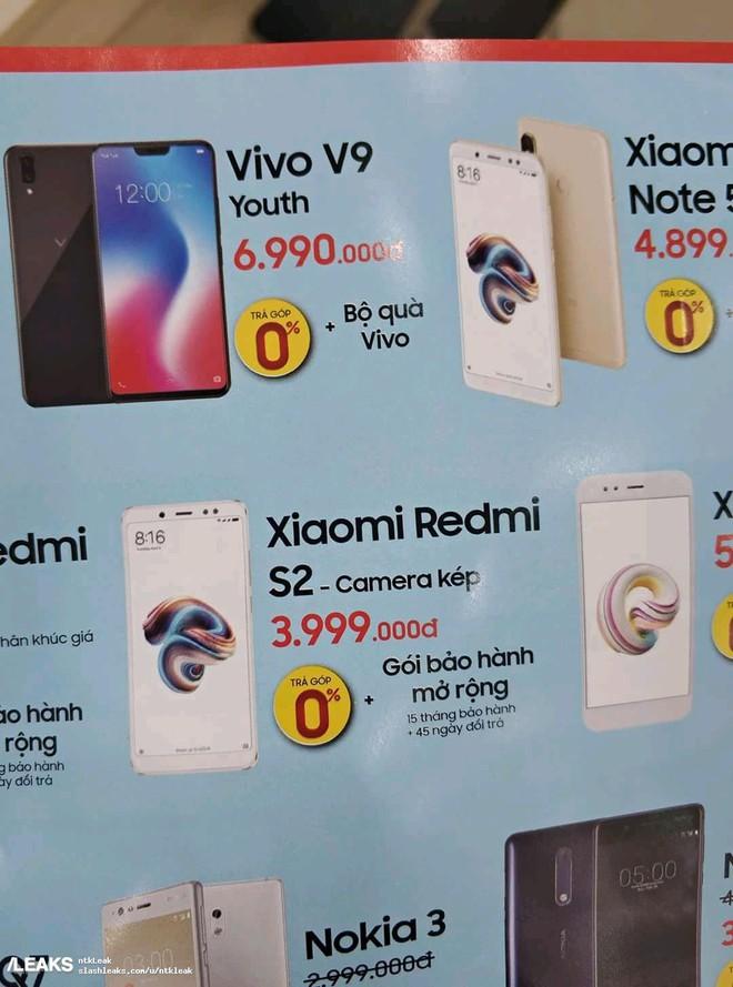 Xiaomi xác nhận Redmi S2 sẽ ra mắt vào ngày 10/5, được bán với giá 3,99 triệu đồng tại Việt Nam - Ảnh 2.
