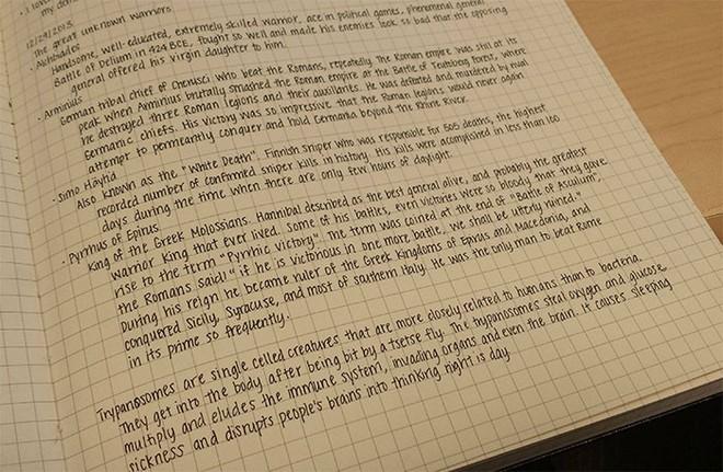 Những nét chữ viết tay hoàn hảo khiến font máy tính cũng phải chào thua - Ảnh 16.