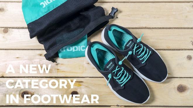 Phượt thủ chắc chắn sẽ thích mê đôi giày chống nước này, chưa đầy một tuần mà thu về hơn 16 tỉ trên Kickstarter - Ảnh 1.