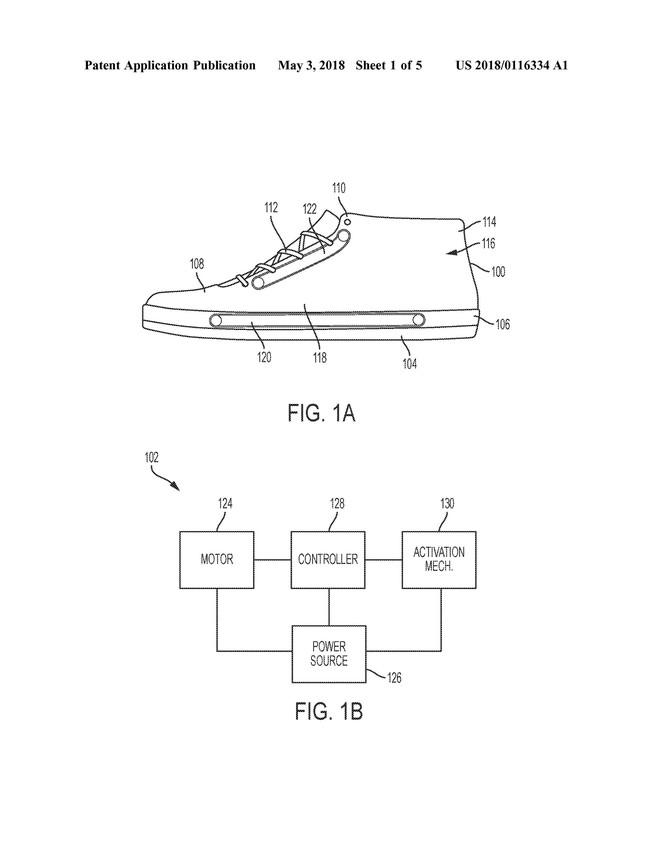 Nike nộp bằng sáng chế về hệ thống băng chuyền trong đế giày, giúp xỏ/tháo giày dễ dàng hơn - Ảnh 3.