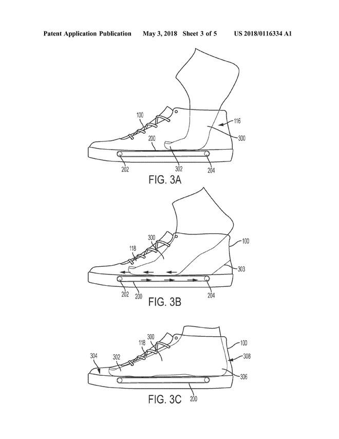 Nike nộp bằng sáng chế về hệ thống băng chuyền trong đế giày, giúp xỏ/tháo giày dễ dàng hơn - Ảnh 4.