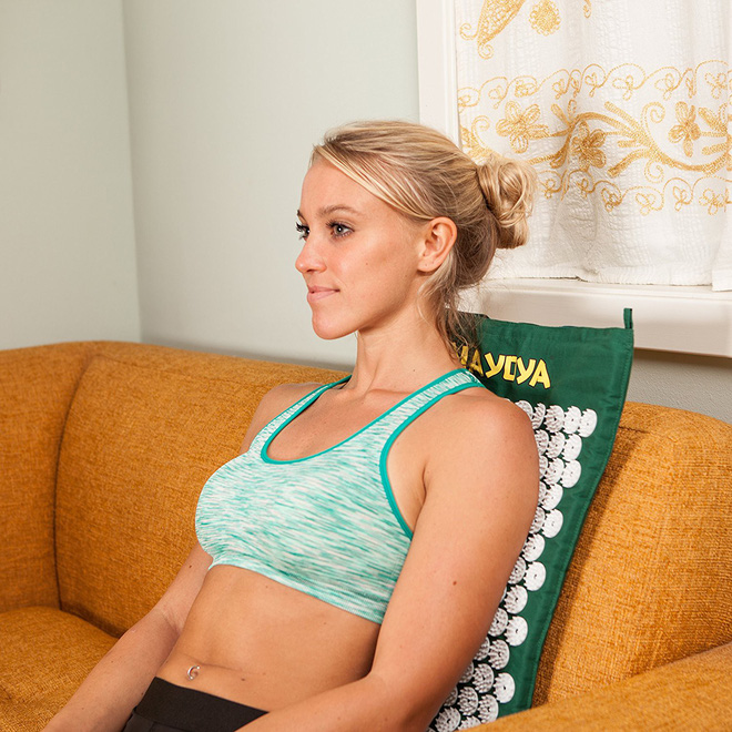 Bí quyết trị đau mỏi vai gáy do ngồi nhiều bằng thảm bấm huyệt bán chạy nhất trên Amazon - Ảnh 4.