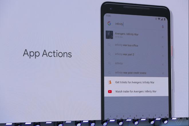 [Google I/O 2018] Thao tác Actions và Slices sẽ rút gọn thao tác cho những người dùng Android P - Ảnh 1.