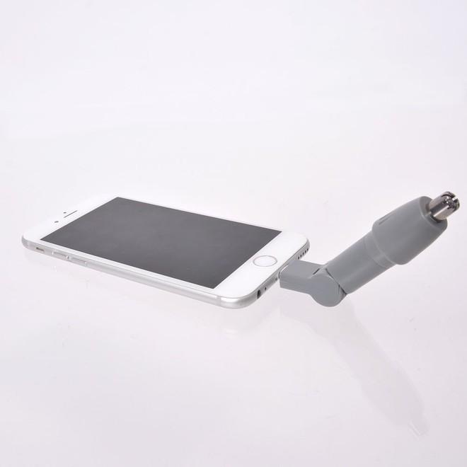 Chiêm ngưỡng máy tỉa lông mũi gắn smartphone giá 300.000 đồng của Nhật - Ảnh 3.