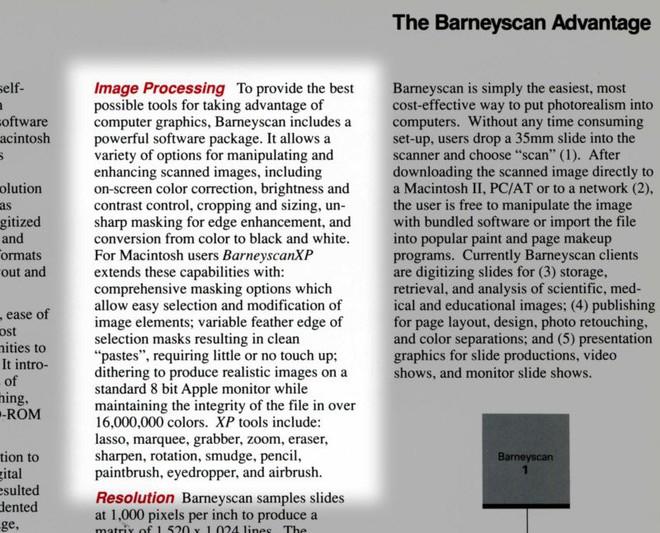 Có thể bạn chưa biết: Photoshop từng được bày bán với tên gọi Barneyscan XP - Ảnh 6.