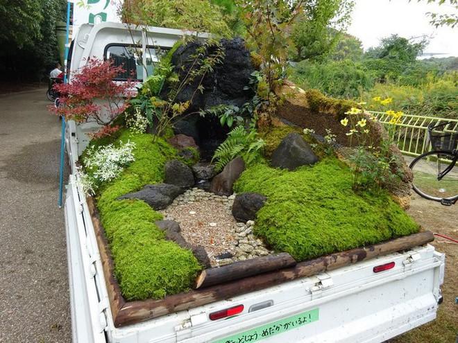 Ở Nhật Bản có hẳn một cuộc thi trưng bày cảnh quan nhà vườn ngay trên xe tải vô cùng độc đáo - Ảnh 10.