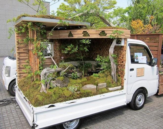 Ở Nhật Bản có hẳn một cuộc thi trưng bày cảnh quan nhà vườn ngay trên xe tải vô cùng độc đáo - Ảnh 7.