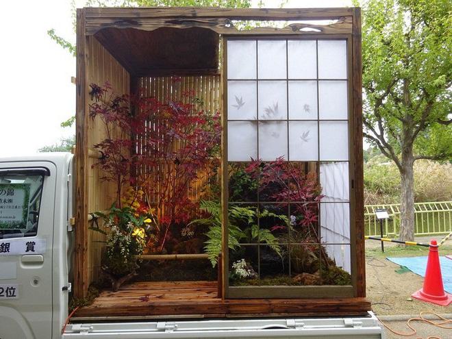 Ở Nhật Bản có hẳn một cuộc thi trưng bày cảnh quan nhà vườn ngay trên xe tải vô cùng độc đáo - Ảnh 6.