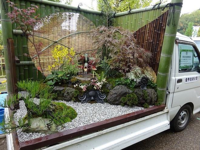 Ở Nhật Bản có hẳn một cuộc thi trưng bày cảnh quan nhà vườn ngay trên xe tải vô cùng độc đáo - Ảnh 4.