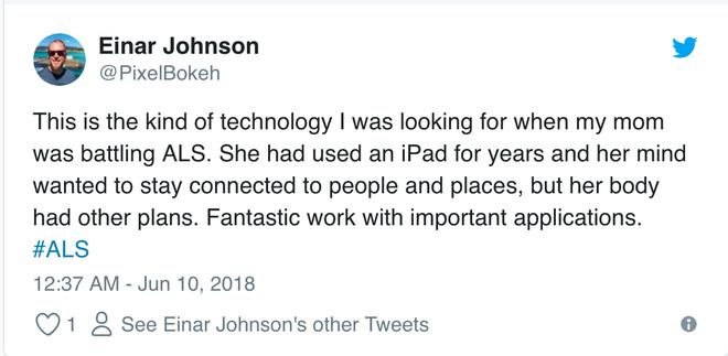 Dùng iPhone bằng mắt, nghe như đùa nhưng có người làm được rồi nhé - Ảnh 4.