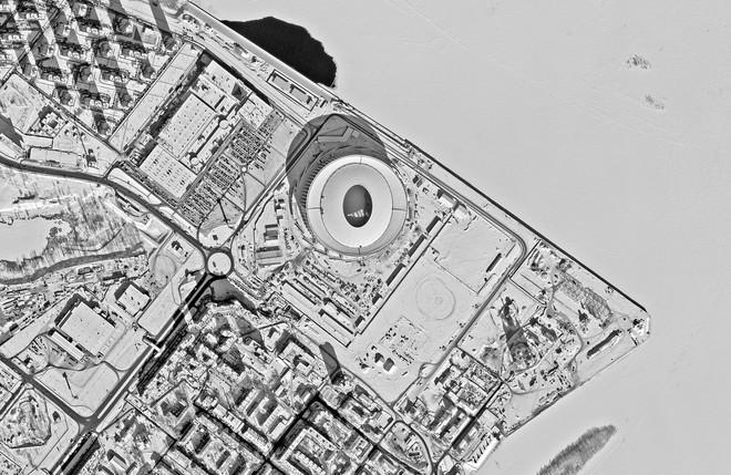 Chiêm ngưỡng toàn bộ các sân vận động phục vụ World Cup 2018 qua loạt ảnh chụp từ Trạm Vũ trụ Quốc tế - Ảnh 3.