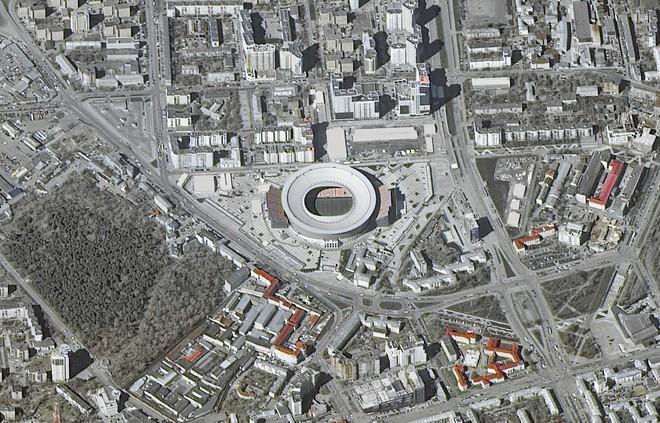 Chiêm ngưỡng toàn bộ các sân vận động phục vụ World Cup 2018 qua loạt ảnh chụp từ Trạm Vũ trụ Quốc tế - Ảnh 5.