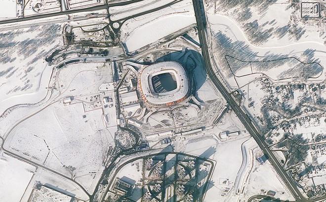 Chiêm ngưỡng toàn bộ các sân vận động phục vụ World Cup 2018 qua loạt ảnh chụp từ Trạm Vũ trụ Quốc tế - Ảnh 6.