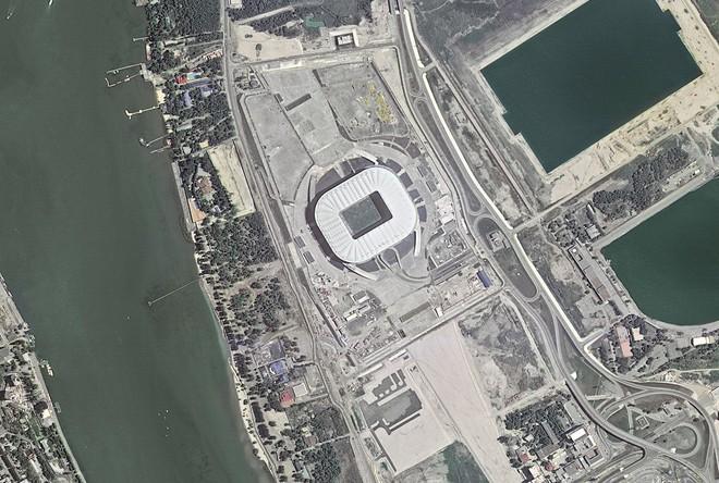 Chiêm ngưỡng toàn bộ các sân vận động phục vụ World Cup 2018 qua loạt ảnh chụp từ Trạm Vũ trụ Quốc tế - Ảnh 7.