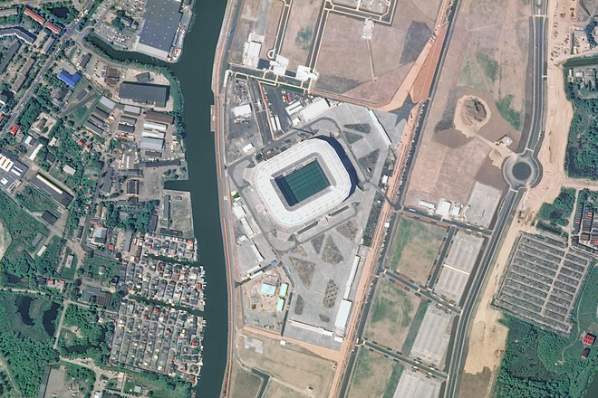 Chiêm ngưỡng toàn bộ các sân vận động phục vụ World Cup 2018 qua loạt ảnh chụp từ Trạm Vũ trụ Quốc tế - Ảnh 9.