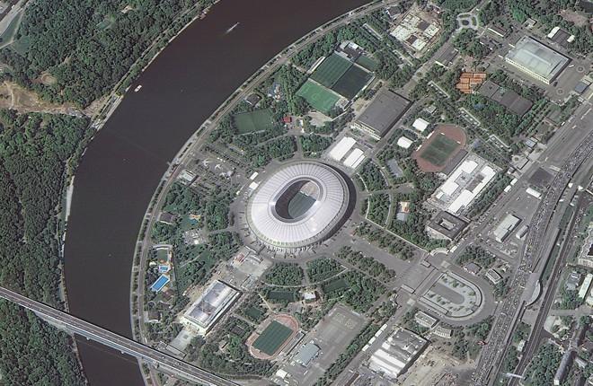 Chiêm ngưỡng toàn bộ các sân vận động phục vụ World Cup 2018 qua loạt ảnh chụp từ Trạm Vũ trụ Quốc tế - Ảnh 10.