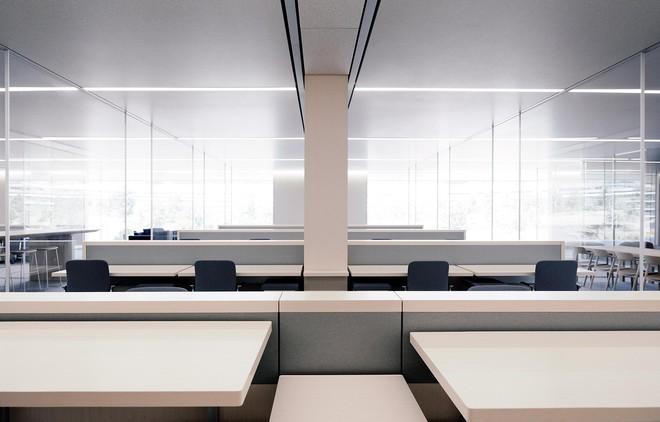 Xem việc ngồi quá nhiều là bệnh ung thư mới - toàn bộ nhân viên Apple Park được trang bị bàn đứng - Ảnh 3.