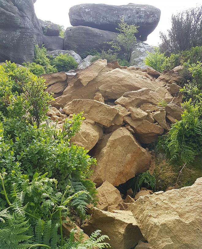 Tác phẩm điêu khắc tự nhiên 320 triệu năm tuổi tại Anh vừa bị 5 thanh niên phá hủy... cho vui - Ảnh 7.