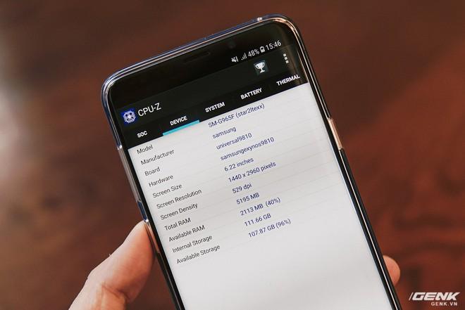 Trên tay Galaxy S9+ Hoàng Kim lấp lánh, RAM 6GB, bộ nhớ 128GB, giá từ 24.490.000 đồng - Ảnh 13.