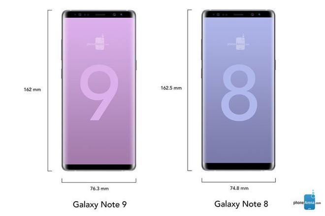 Lộ hình ảnh thiết kế cho thấy Galaxy Note 9 sẽ có viền mỏng hơn cả Note 8, kiên quyết nói không với tai thỏ - Ảnh 3.