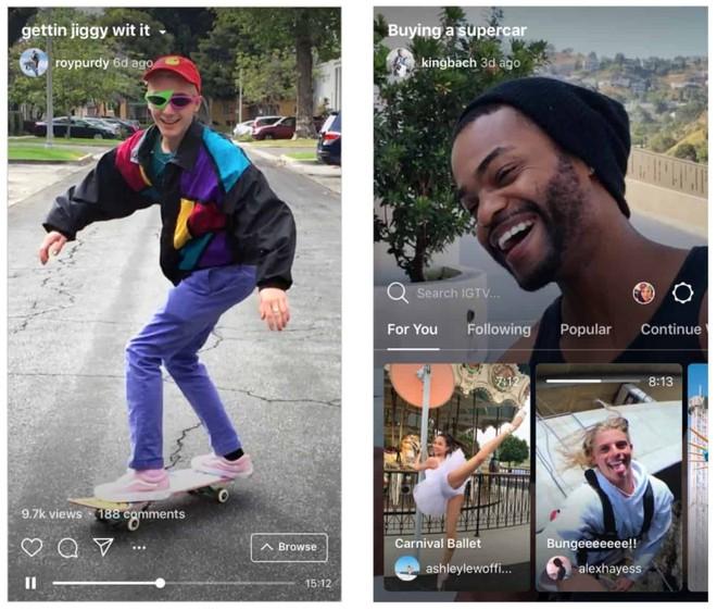 Instagram ra mắt IGTV, sẵn sàng cạnh tranh với YouTube - Ảnh 2.