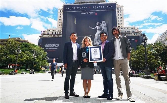 Huawei xuất sắc phá kỷ lục biển quảng cáo lớn nhất thế giới với chiếc Huawei P20 Pro - Ảnh 5.