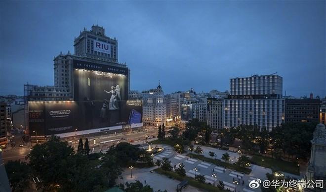 Huawei xuất sắc phá kỷ lục biển quảng cáo lớn nhất thế giới với chiếc Huawei P20 Pro - Ảnh 3.