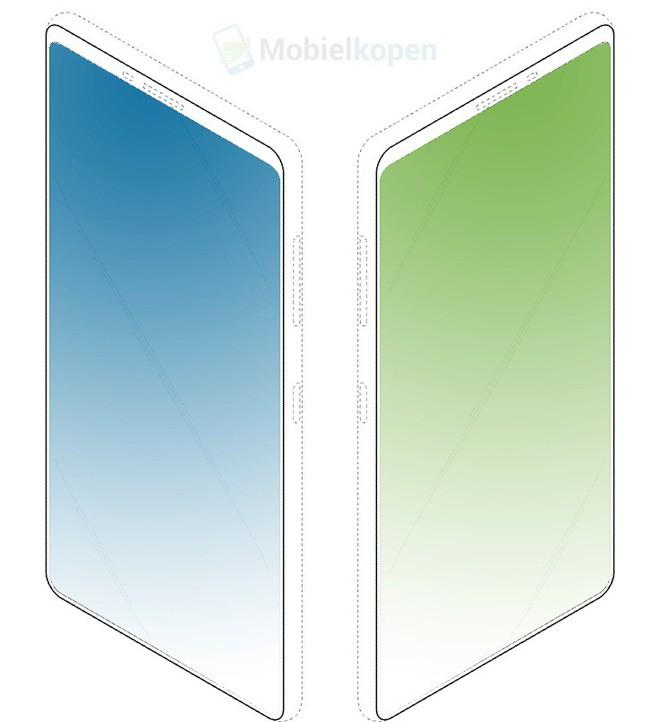 Samsung vừa công bố bằng sáng chế smartphone với thiết kế mặt trước mới và có màn hình phụ ở mặt lưng - Ảnh 1.