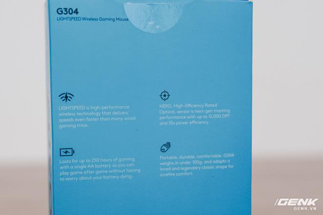 Đánh giá chuột chơi game không dây Logitech G304: Giá hơi cao, thiếu đầm tay nhưng nhanh và nhạy - Ảnh 3.
