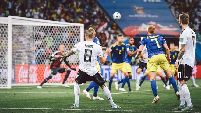 [World Cup 2018] Đức xin lỗi Thụy Điển vì màn ăn mừng quá trớn sau bàn thắng của Toni Kroos - Ảnh 1.