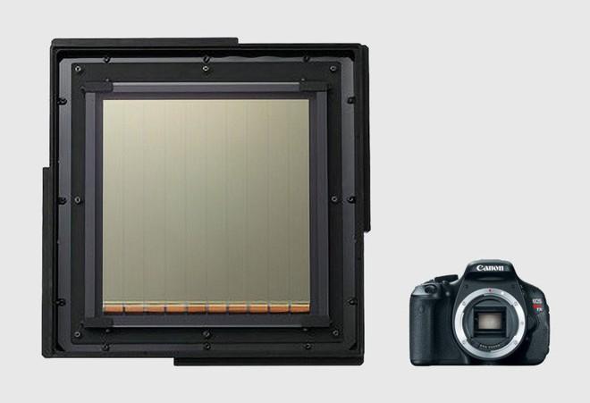 Cảm biến CMOS lớn nhất thế giới của Canon to gấp 40 lần cảm biến full frame thông thường - Ảnh 1.